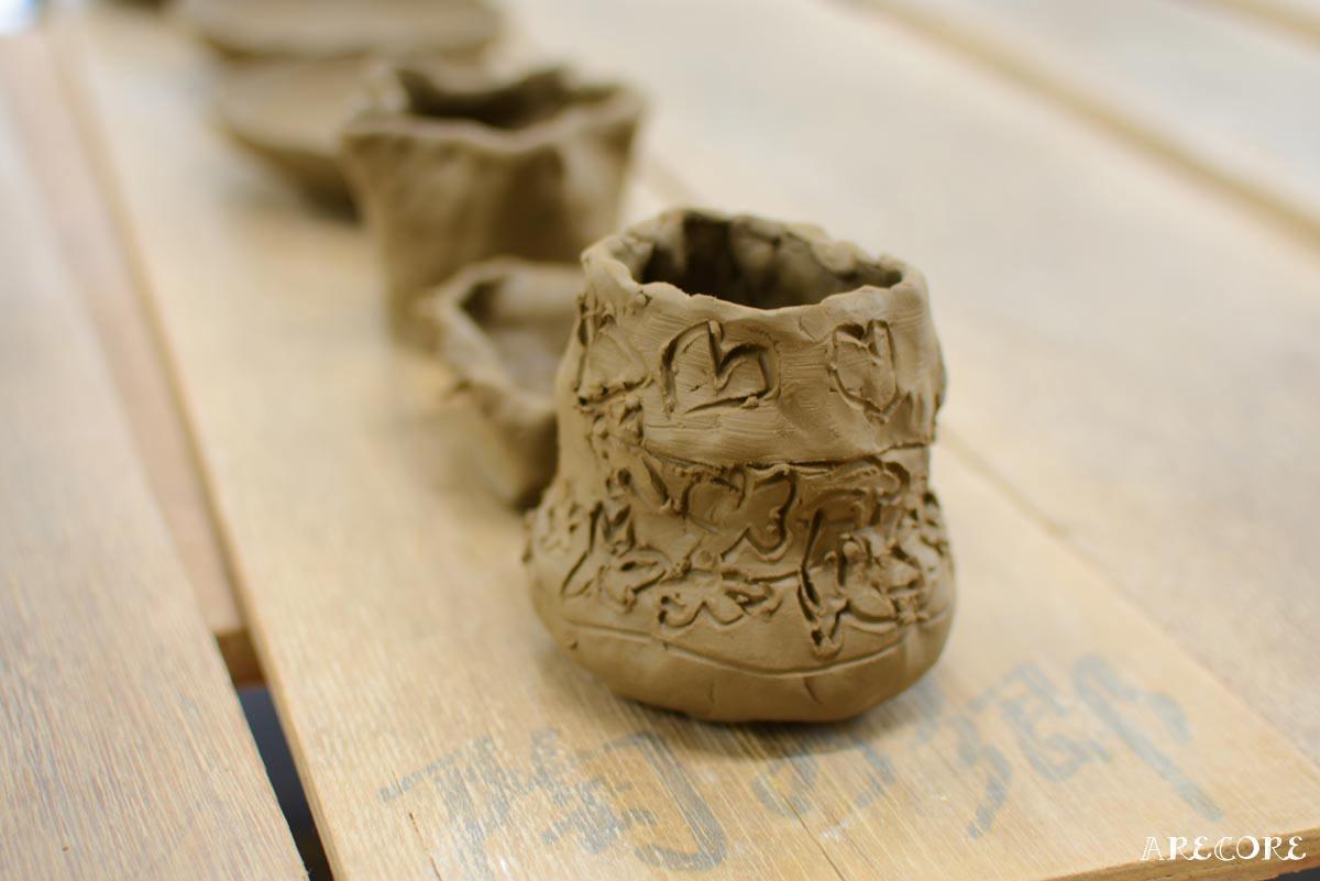 陶の郷陶芸教室作品