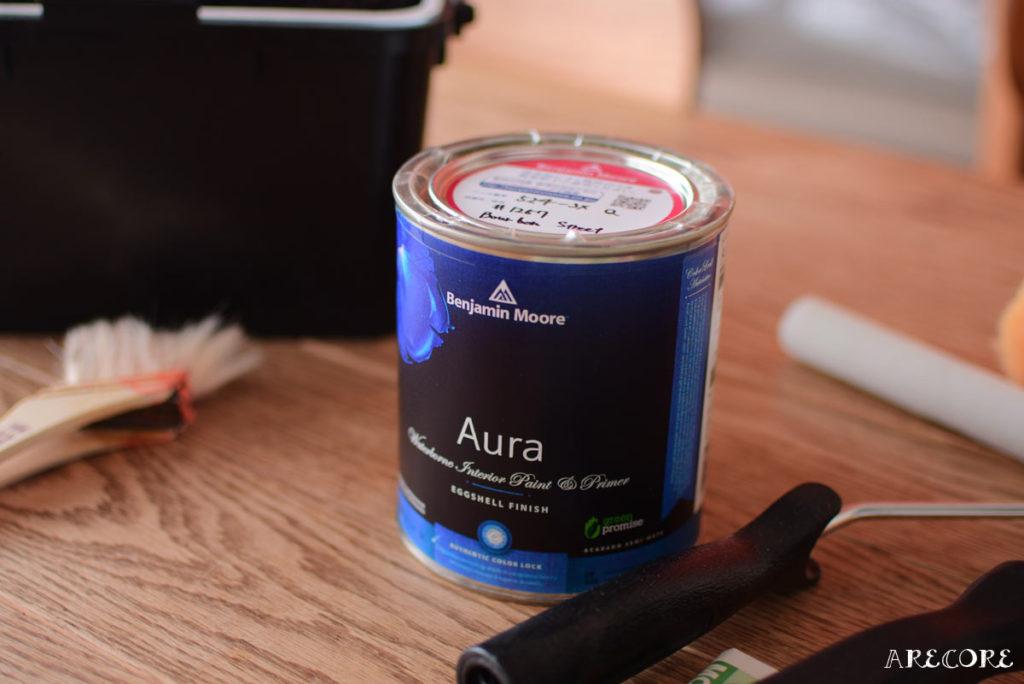 Auraペンキ缶