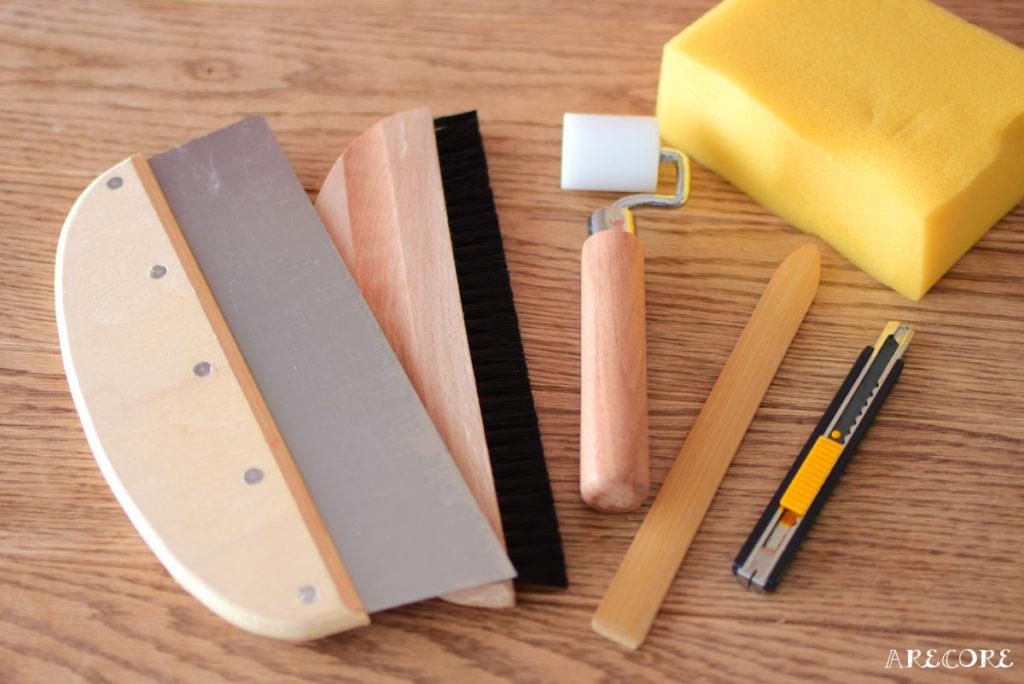 壁紙貼り道具