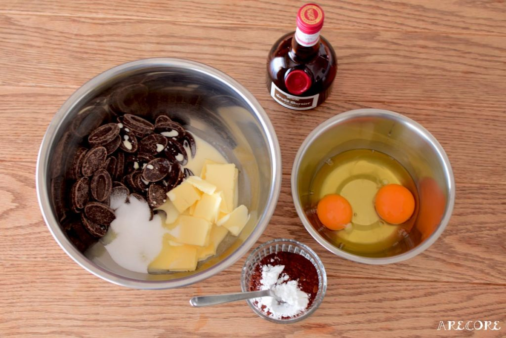 ショコラテリーヌの材料