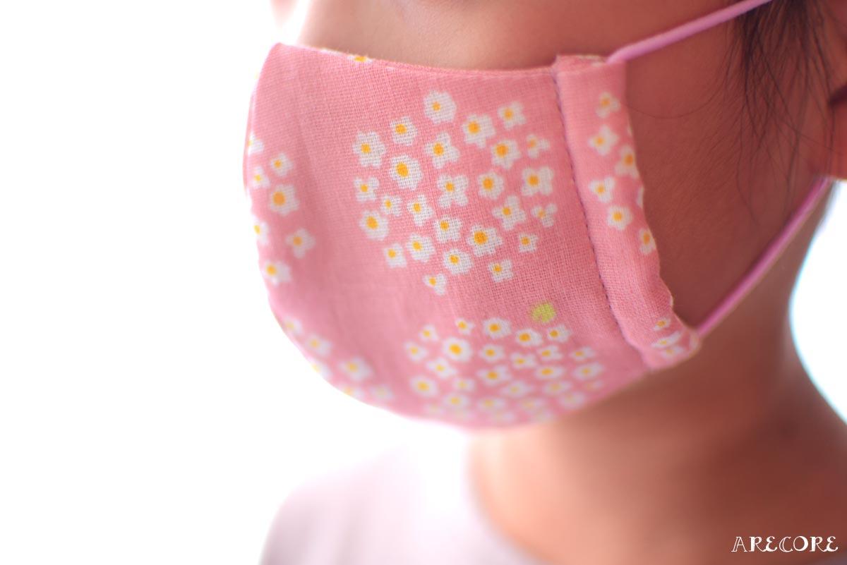子供サイズの布マスク