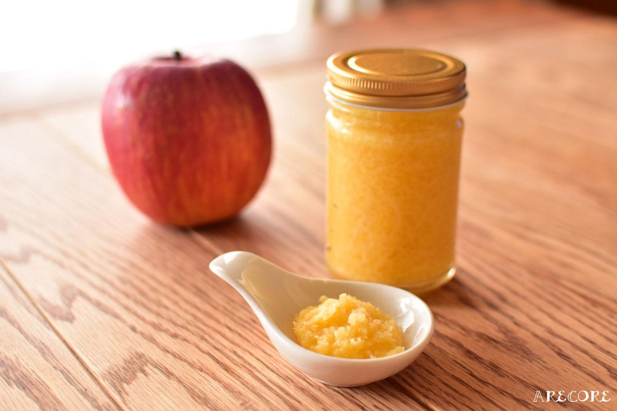 りんごバターの作り方